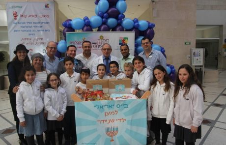 תלמידים ומתנדבים – שלל מיזמי התנדבות לקראת חנוכה.