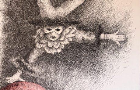 """""""בין העולמות"""", תערוכת יחיד של דליה ברנשטיין"""
