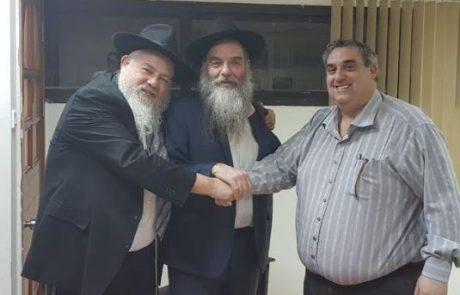 """מקווה אלפסי – שיתוף הפעולה בין המועצה הדתית לעמותת חב""""ד יוצא לדרך!"""