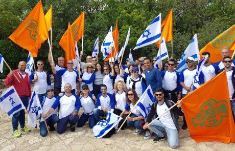 עיריית רעננה נטלה חלק במסע השבעים למדינת ישראל!