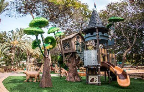 מתקנים חדשים לילדים בפארק רעננה!
