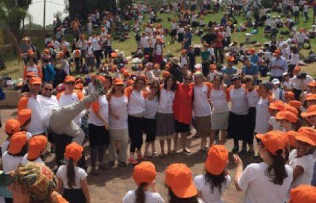 """1,000 תלמידי הממ""""ד לא טועים – טקס ברכת האילנות!"""