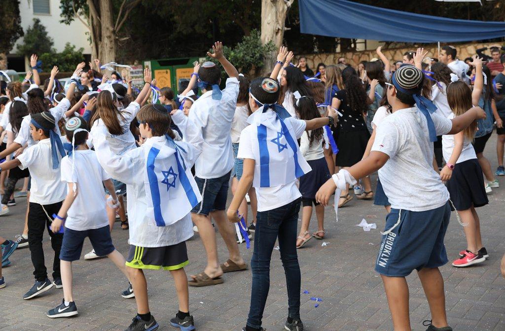 רעננה חגגה 70 למדינה עם תנועות הנוער וארגוני הנוער בעיר!