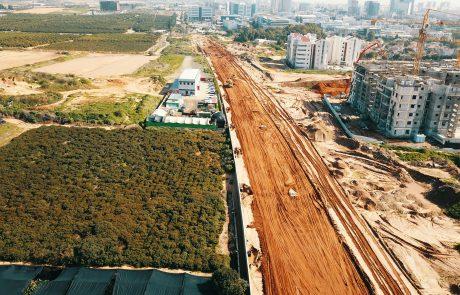 החלו העבודות לסלילת הכביש העוקף הצפוני ברעננה