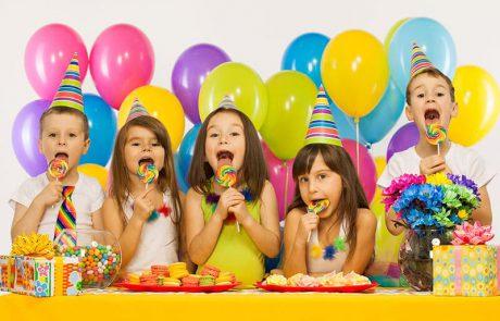 כל הגימיקים למסיבת יום הולדת